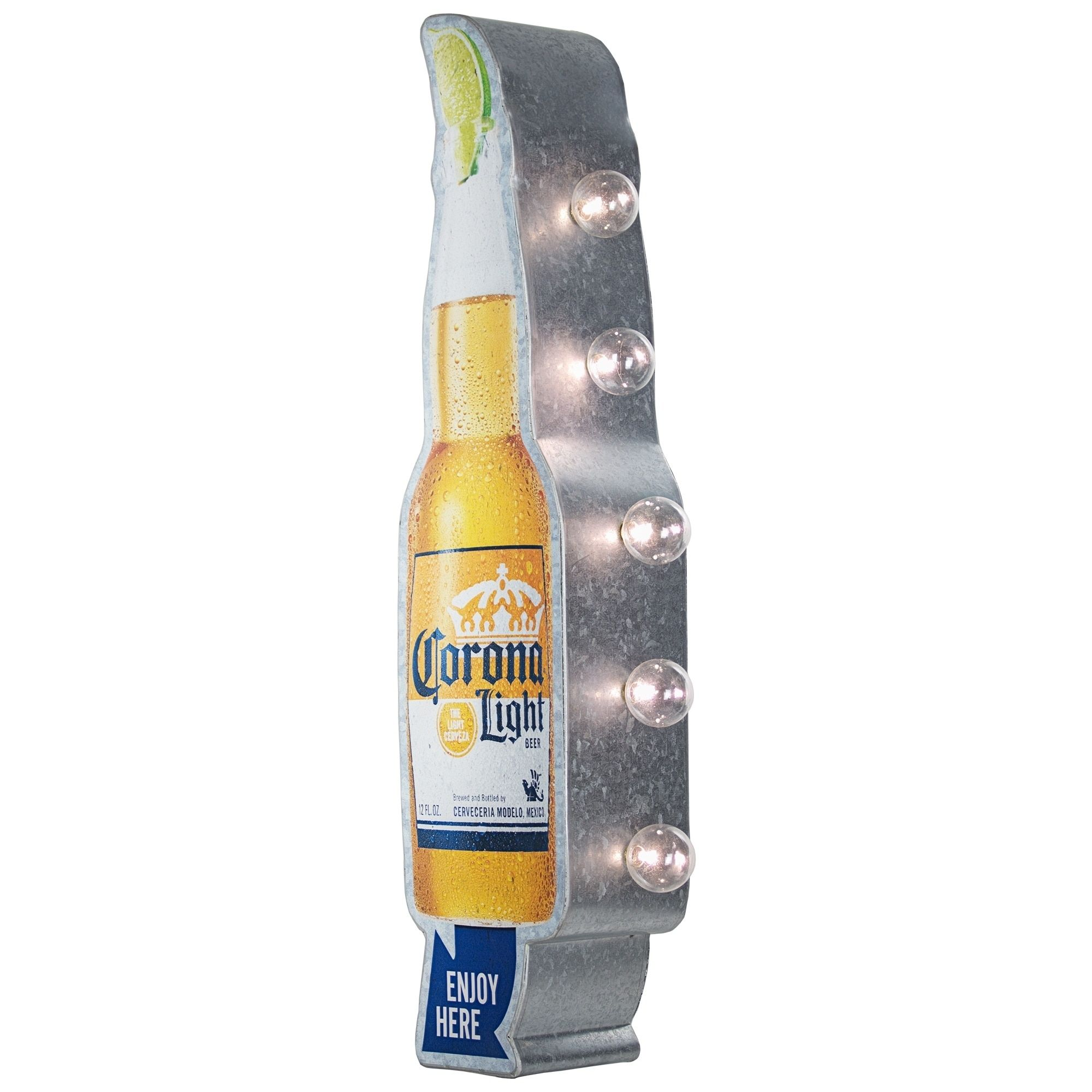 Officially Licensed Vintage Corona Light Sold Here Led Sign Yellow Metal Corona Light Cool Wall Decor Vintage Marquee Sign