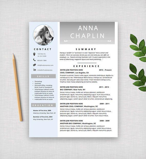 Resume Template CV Template Modern Resume Design + Cover Letter