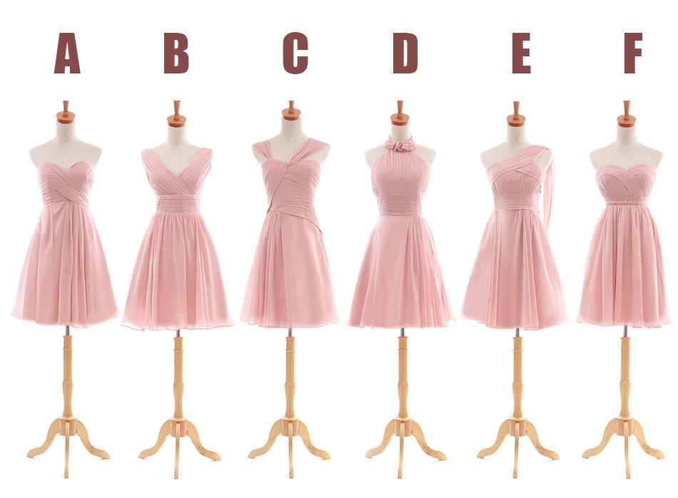 2014 Fashion Sexy Long Blush Pink Bridesmaid Dresses (abendkleider ...