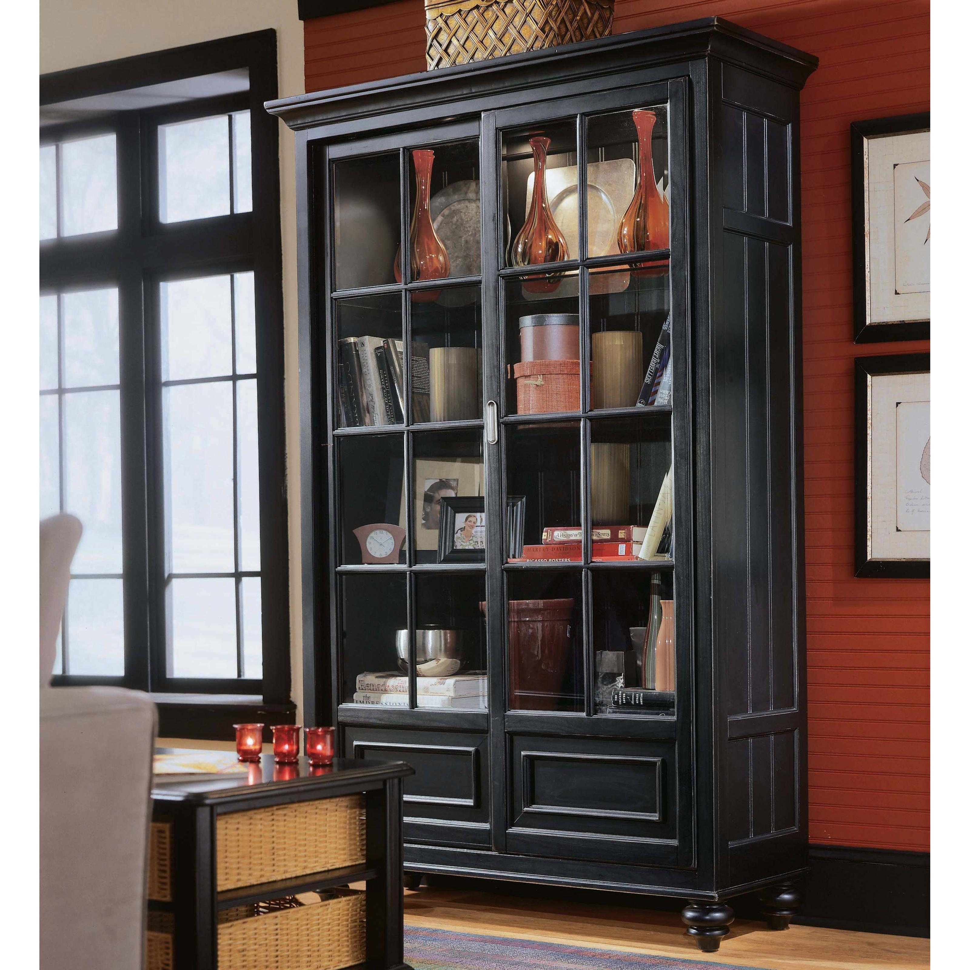 Camden Wood Bookcase/China Cabinet