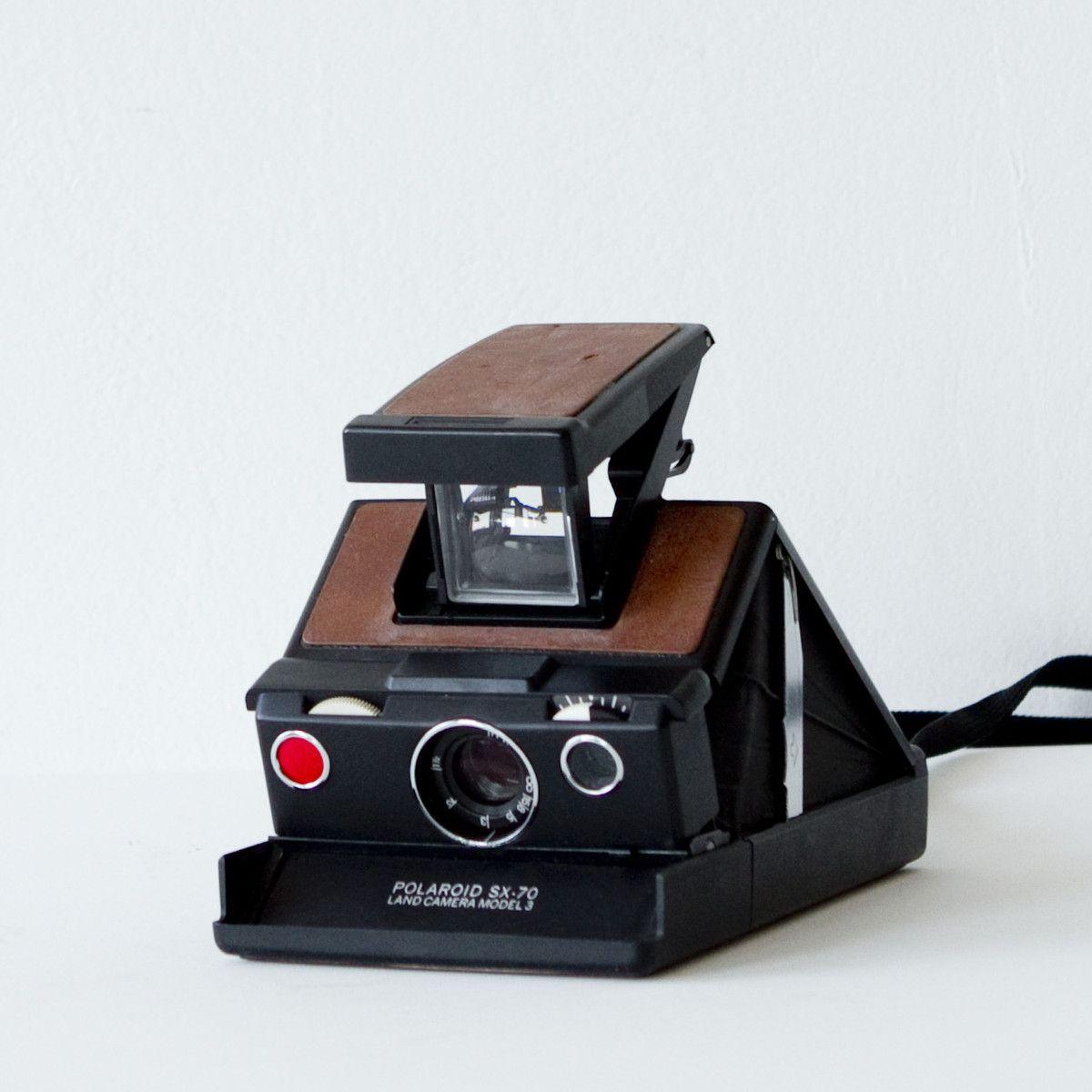 Cámara Polaroid sx-70 Land Camera cámara Model 3 III