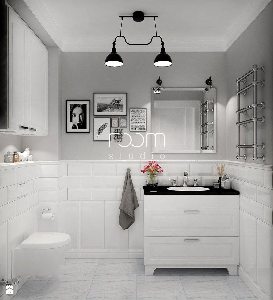 Wystrój Wnętrz łazienka Styl Skandynawski Projekty I