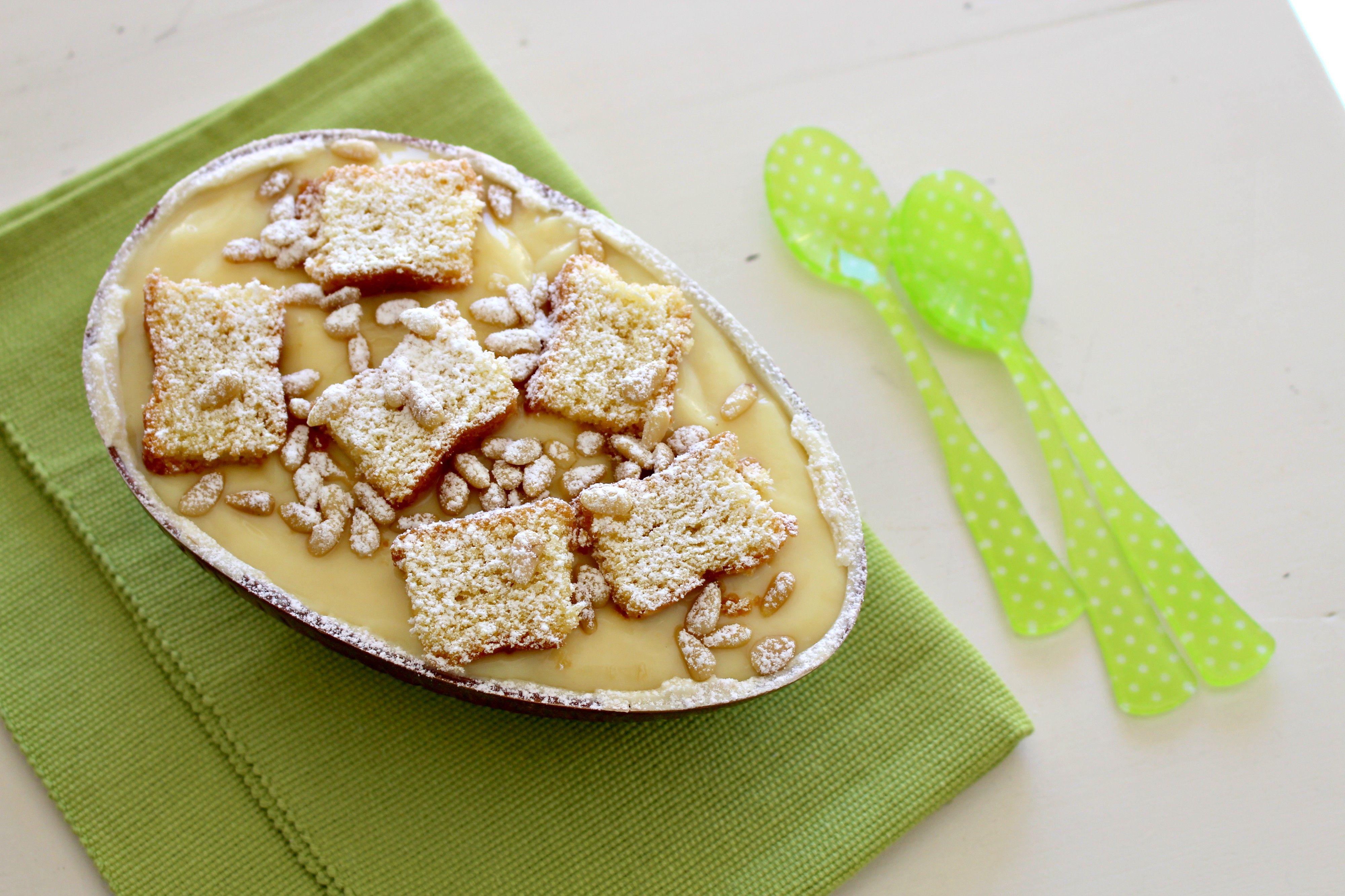 Photo of Uovo di cioccolato ripieno di torta della nonna – La Cucina Itali