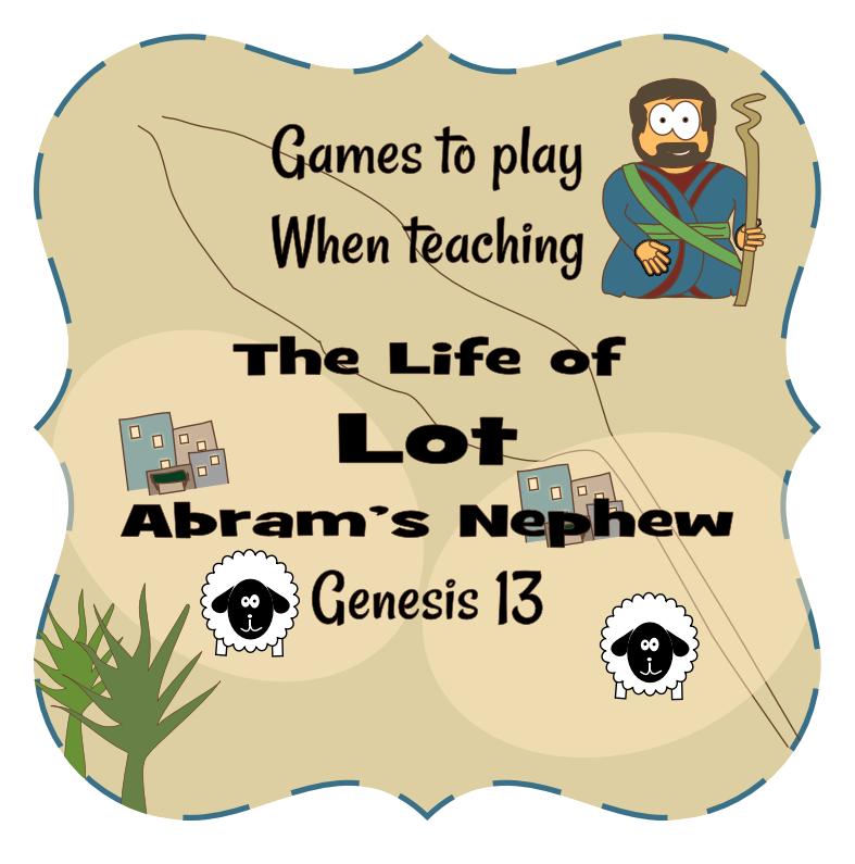 Lot Genesis 13 Genesis Bible Stories For Kids Bible