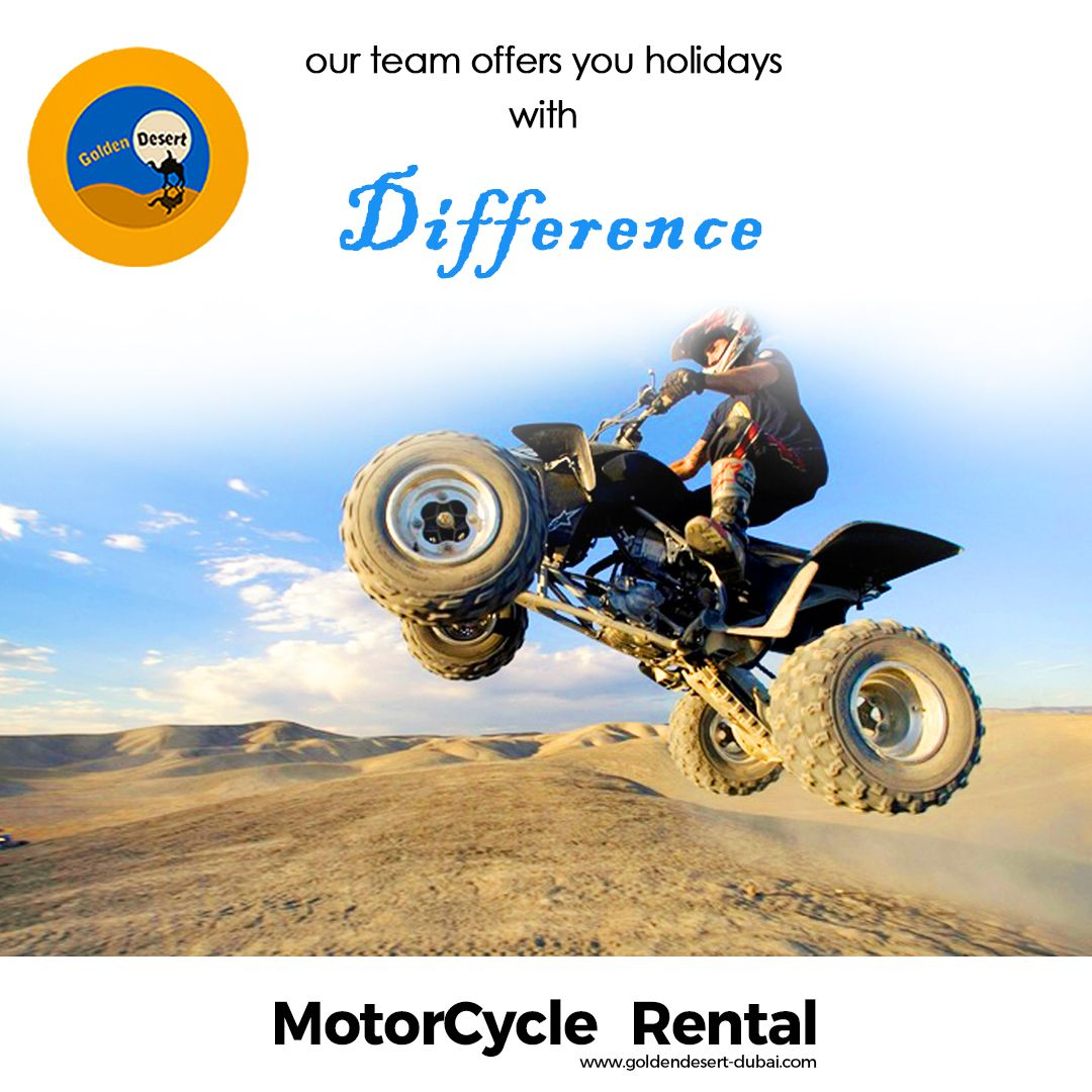 Experience The Dunes In Dubai With Quad Bike Safari From Golden