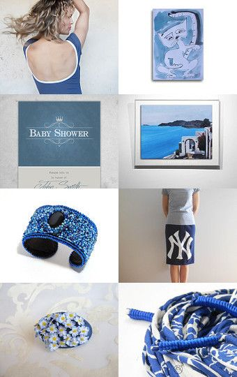 ...like the sky on the summer! by Vicky on Etsy--Pinned with TreasuryPin.com