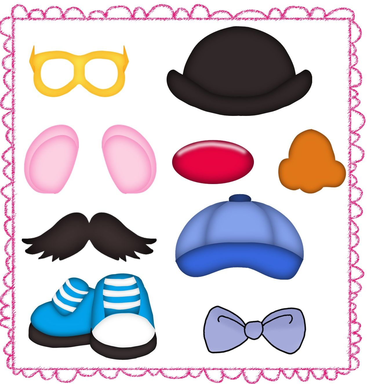 picture regarding Mr Potato Head Printable Parts referred to as Mr Potato Thoughts Sections Printables mr potato the small