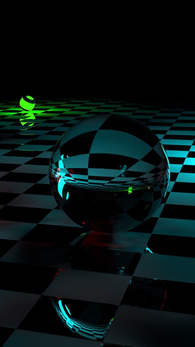 3d Crystal Balls Hd Photo 3d Wallpaper For Phone Phone Wallpaper Qhd Wallpaper