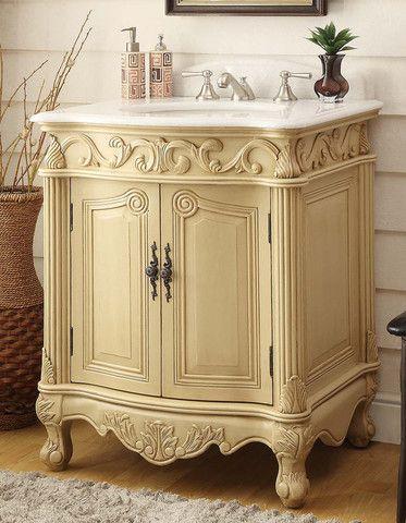 Hayman 27 Inch Vanity Ba2917wlt Yellow Bathroom Furniture