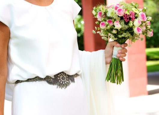 boda virginia andres vestido crepe art deco vintage espalda aire