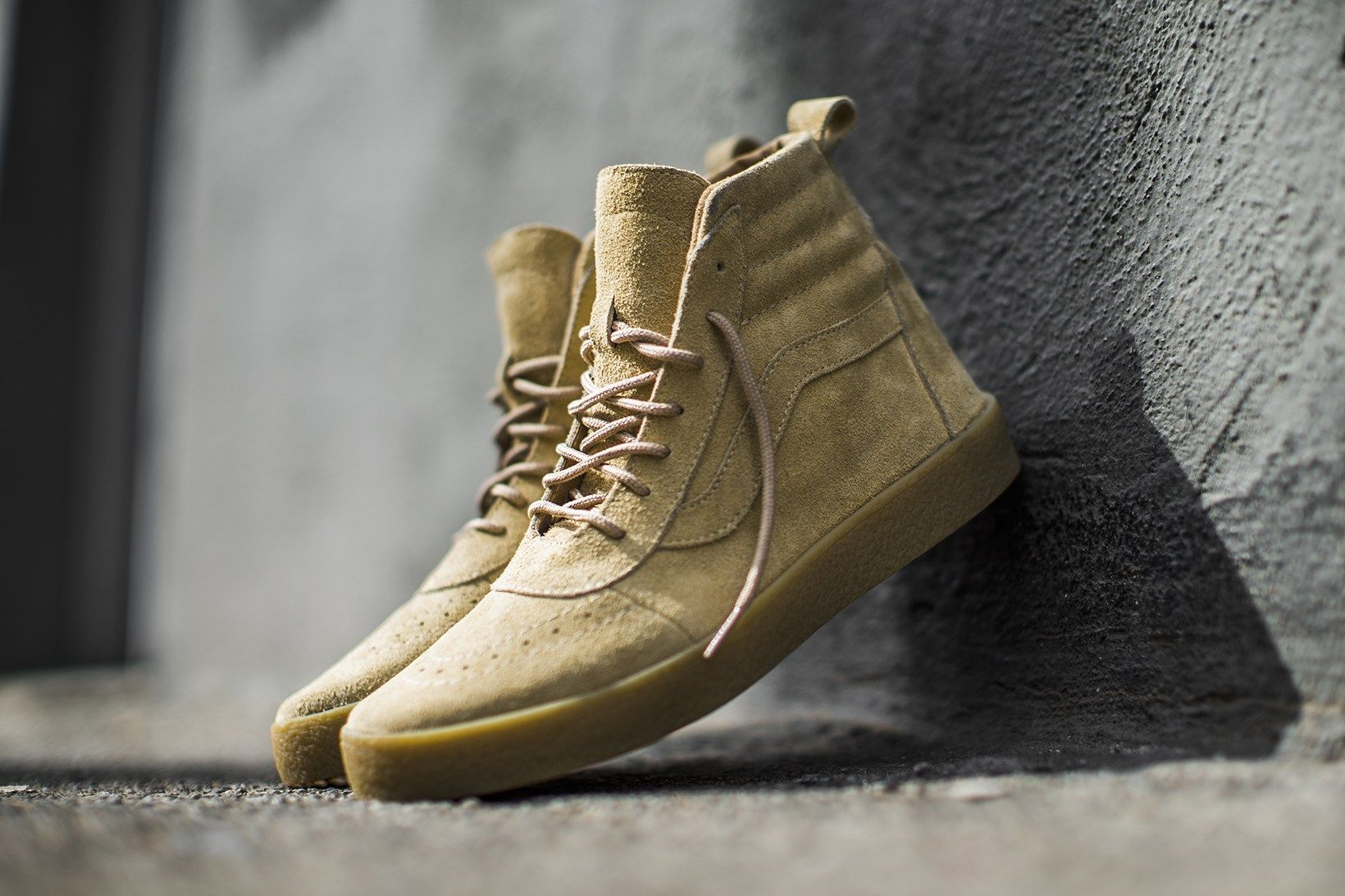 18dc1b16fdbb The Shoe Surgeon Fuses the Yeezy Crepe Boot With a Vans Upper ...
