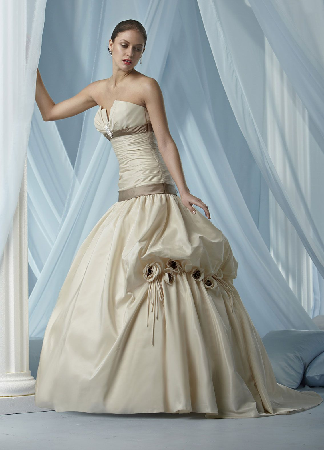 Image detail for -non traditional wedding dresses,impression ...
