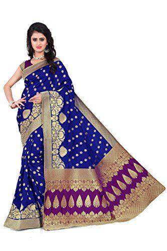 ee8f27f7f46b7c Soft Fabric  Cotton Silk Banarasi Saree for women Pattern   Jacquard