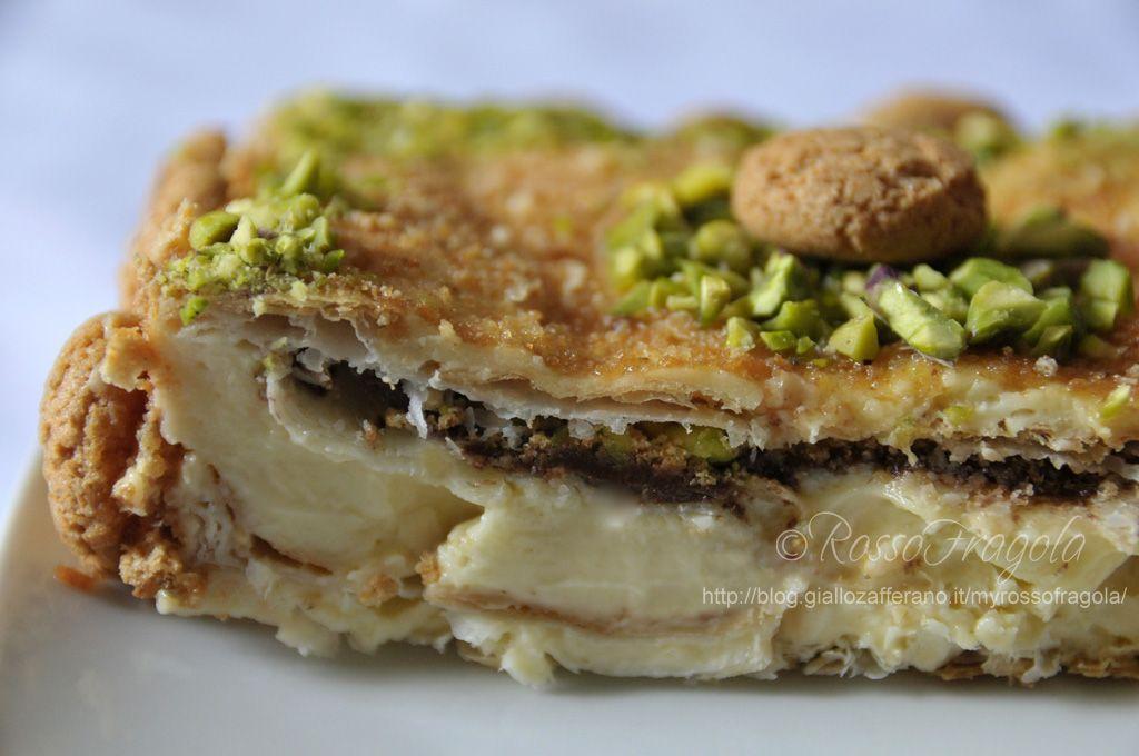 torta diplomatica alla nutella
