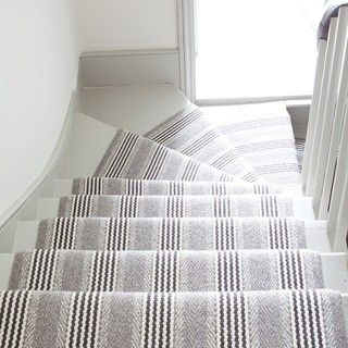 Luxury Striped Hallway Runner
