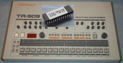 Drumcomputer Roland TR 909 V.4 EProm - TR909 V 4 606 303 V4 808 in Sachsen - Chemnitz   Musikinstrumente und Zubehör gebraucht kaufen   eBay Kleinanzeigen