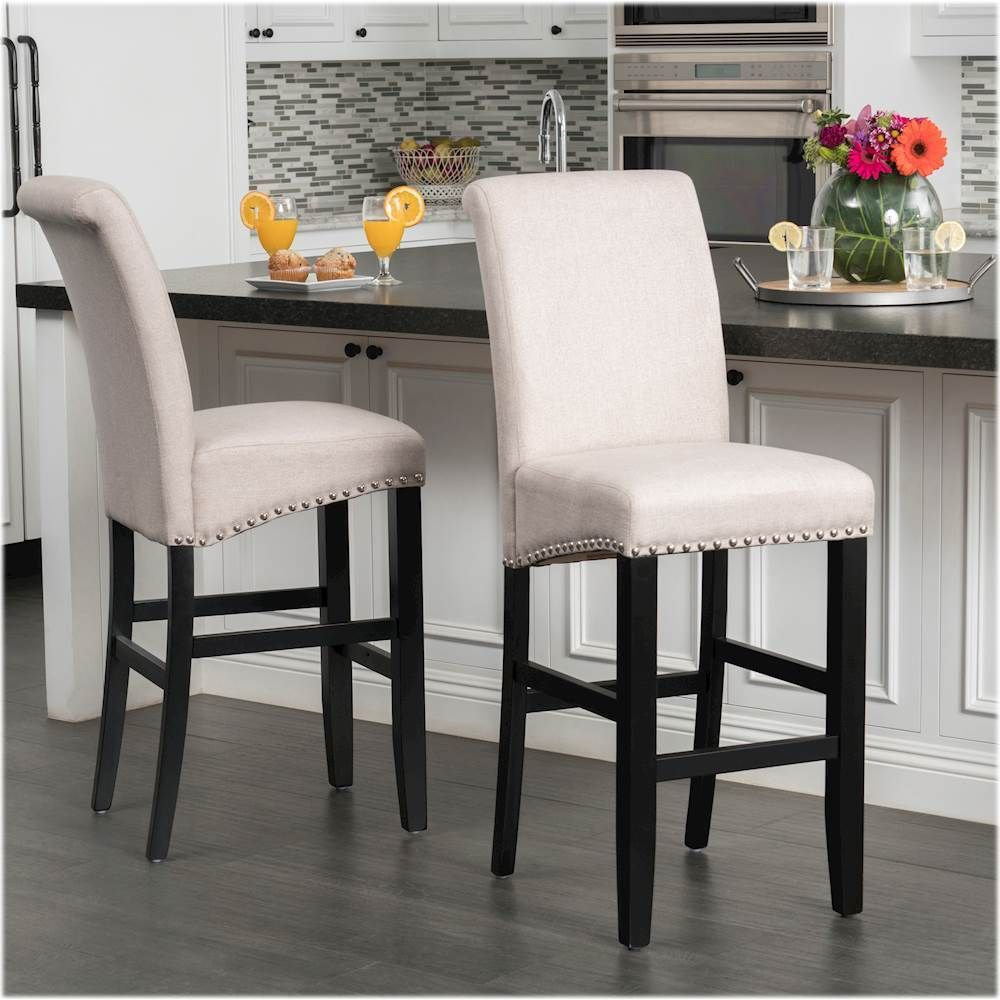 Noble House Elkins Barstools Set Of 2 Wheat In 2020 Bar