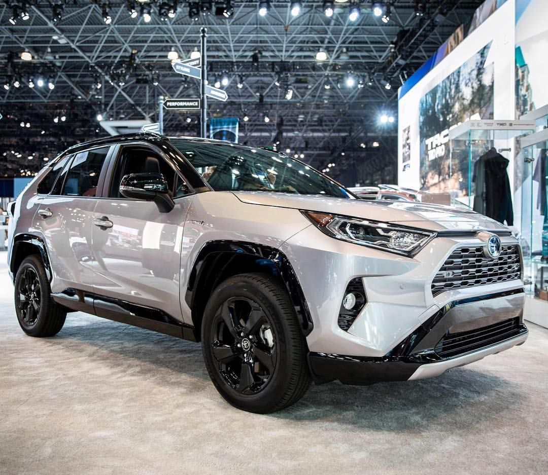 The All-new 2019 Toyota RAV4 - XSE HV Model