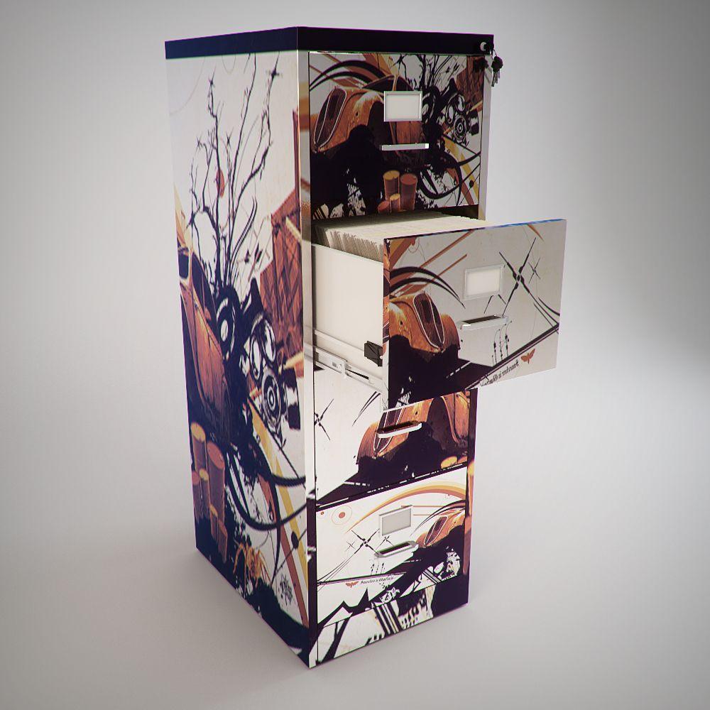 Filing Cabinet Art by Ari Zahavi at Coroflot.com | art filing ...