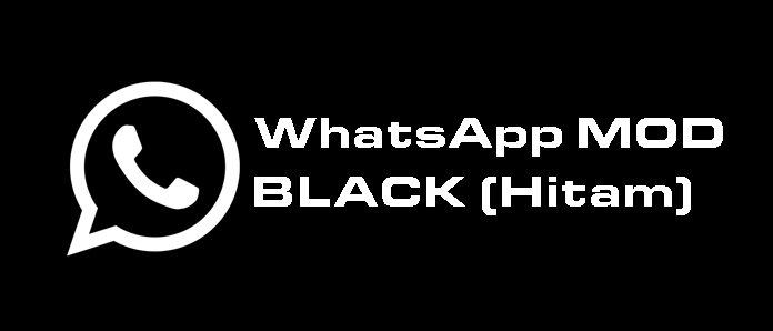 Download WhatsApp MOD Tema Black (Hitam) APK Versi Terbaru