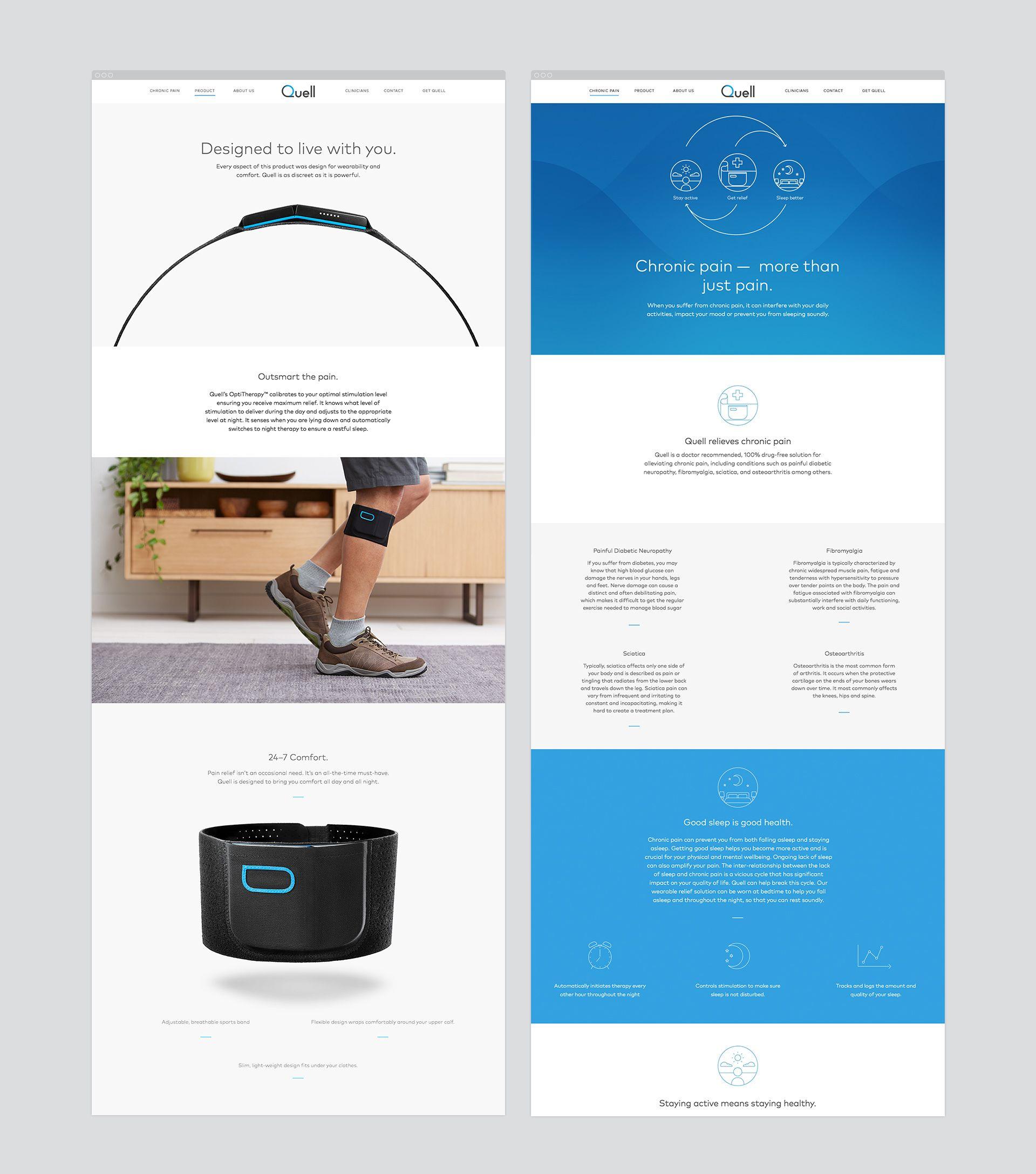 Quell Web Double 4 Jpg 1920 2175 Web Design Web Design Inspiration