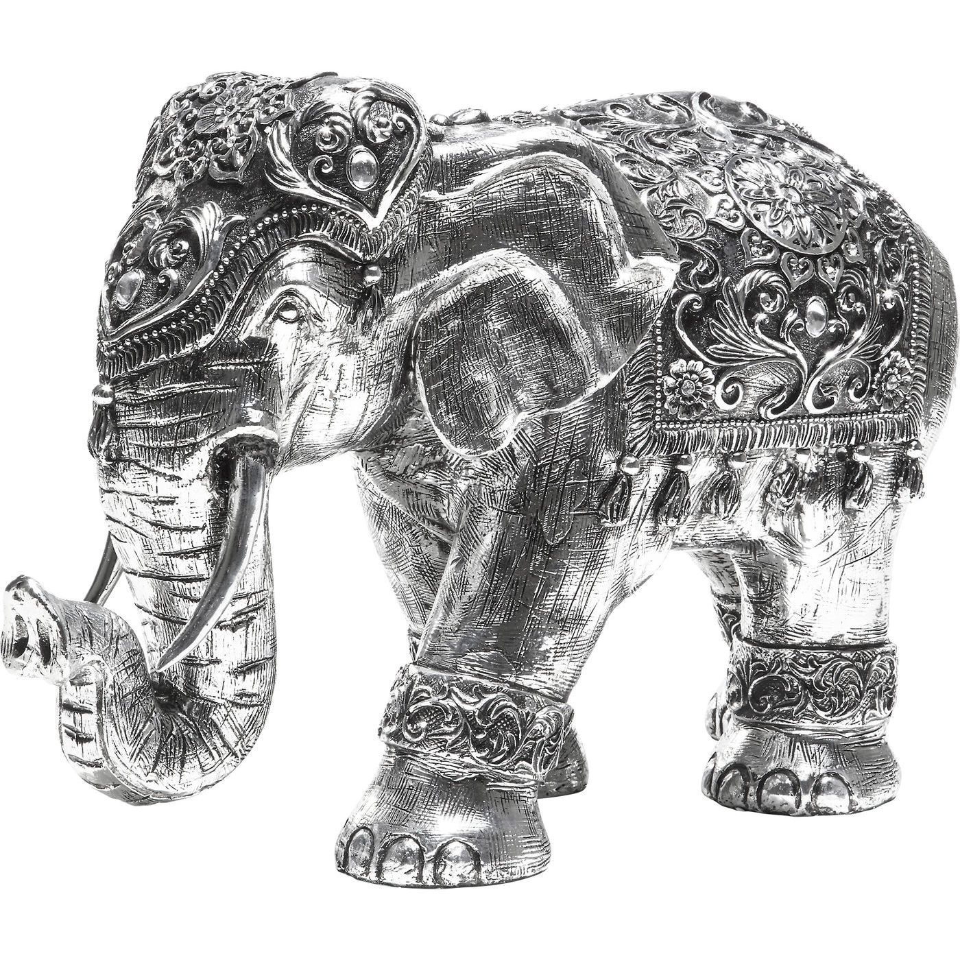 3334fc45ce7 Deco Figurine Elefant 1001 Nights 33cm - KARE Design  kare  karedesign    elephant  deocration  ethno  orient   deco  silver  interior  accessories   home   .