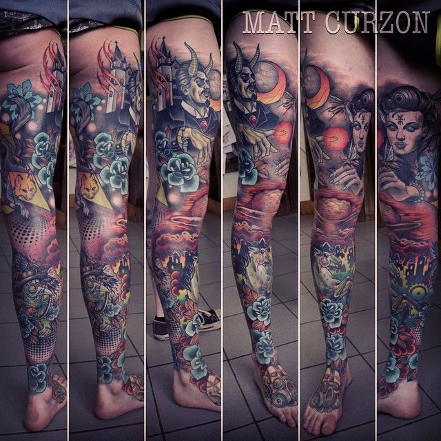 Outstanding Neo Traditional Sleeve Tattoos Sleeve Tattoos Traditional Sleeve Tattoos