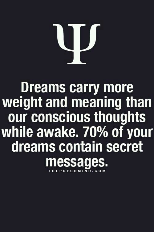 What If Our Dreams Are Right And >> Everyone Will Have A Dream Right Big And Secret Dream