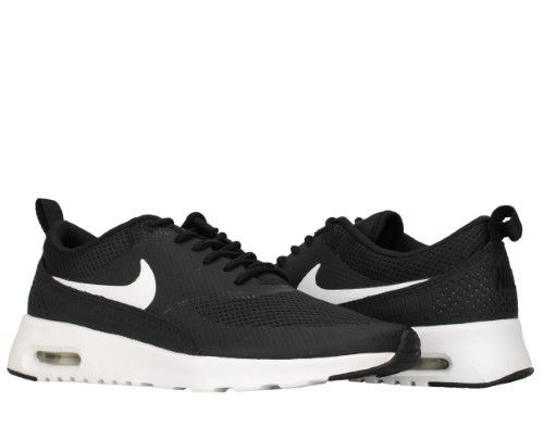 270ccc806c996 Nike Womens Air Max Thea Running Shoes Black/White 599409-020 Size 6.5, Size:  6.5 B(M) US, Black/Summit White