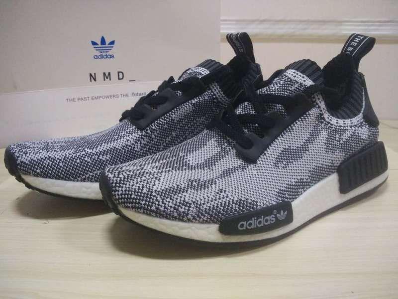 Discount Adidas 2018 NMD WMNS NMD 2018 Runner PK S79478 Primeknit Grau schwarz 17c4bb