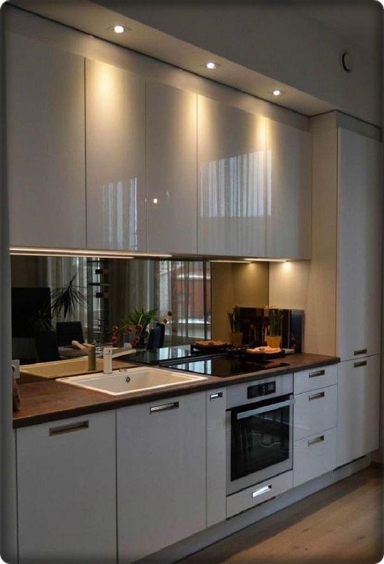 38 Elegant And Luxurious Kitchen Design Ideas 3 Homezideas Com In 2020 Modern Kitchen Renovation Small Kitchen Plans Modern Kitchen