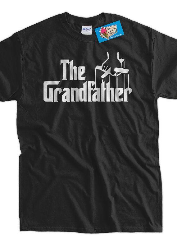 63d71b92 The Grandfather T-Shirt Grandpa Gift New Baby Gift Gifts for Dad Screen  Printed T-Shirt Tee Shirt T Shirt Mens Ladies Womens