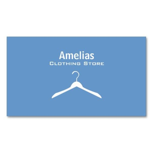 Clothing store business cards business cards business and laundry clothing store business cards reheart Gallery