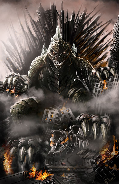 Godzilla by JoseGalvan.deviantart.com on @deviantART