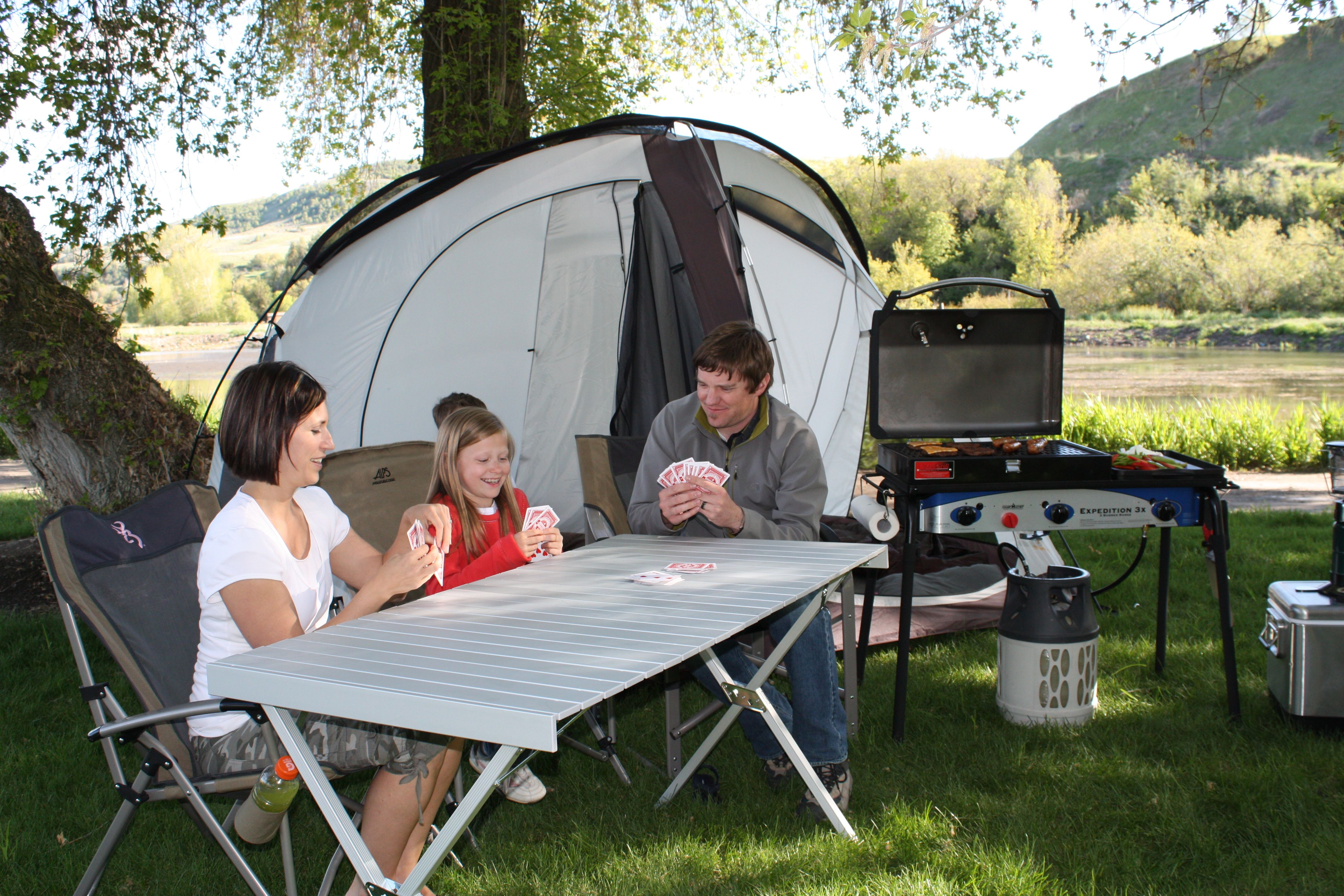 ALPS Mountaineering XL Dining Table great for camping eating