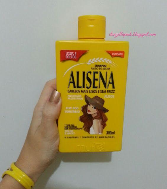 Resenha Lancamento Kit Alisena Da Muriel Cosmeticos Shampoo
