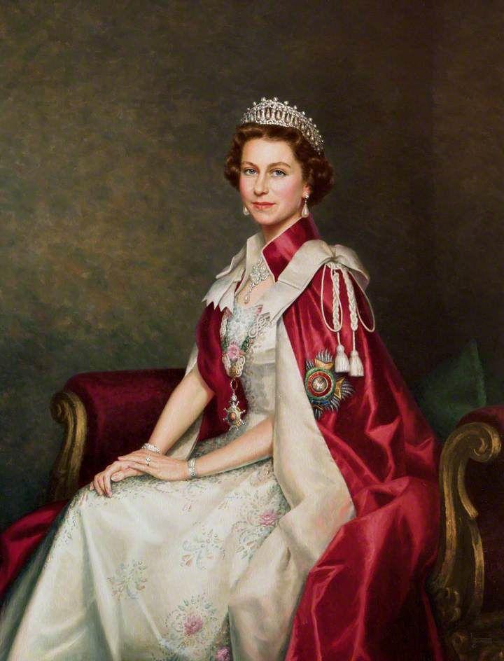 Queen Elizabeth II by Leonard Boden, Circa 1983 | Royalty ...