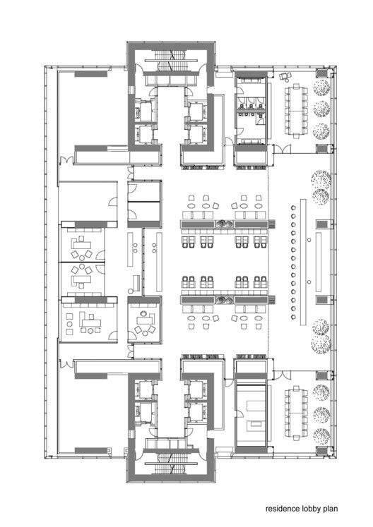 Gallery Of Istanbul Sapphire Tabanlioglu Architects 38 Hotel Room Design Plan Building Design Architect
