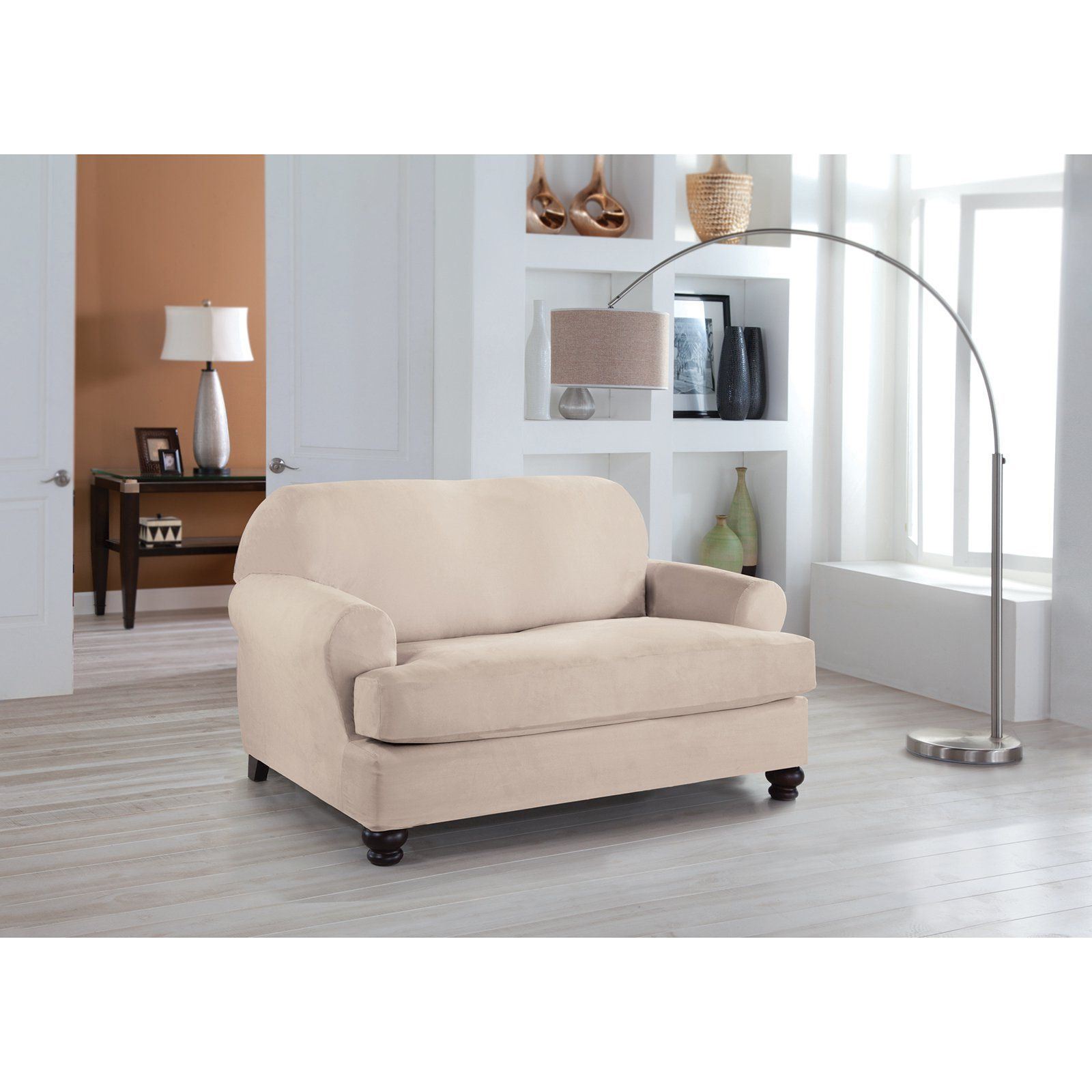 Stretch Fit Loveseat Slipcover 692 254 01 34 011 01