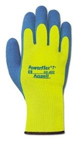 Ansell PowerFlex T Insulated Hi Viz Yellow Gloves$5.98