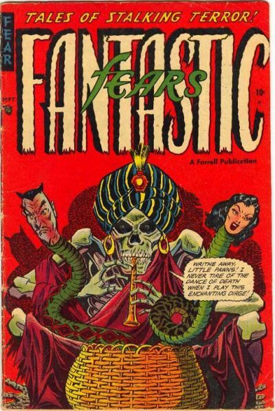 Cover for Fantastic Fears (1953 series) #3