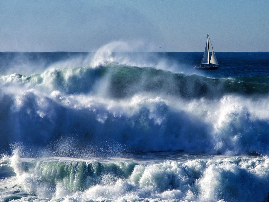 Popular on 500px : Sailing boat in the surf by AnttiKauppi