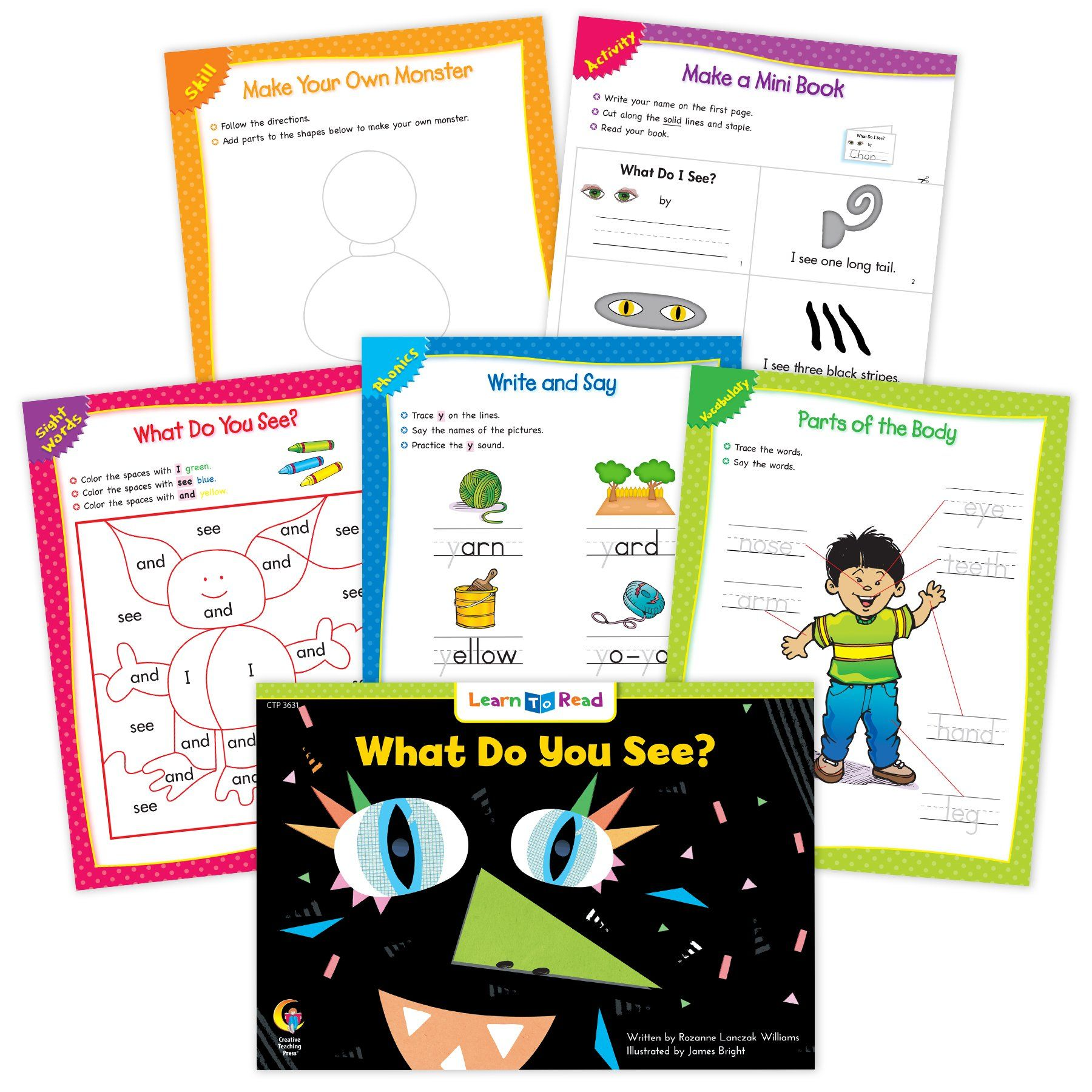 What Do You See Ebook Amp Worksheets In