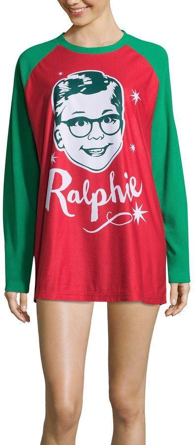Asstd National Brand A Christmas Story Ralphie Family Pajama