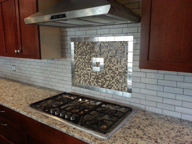 Kitchen Backsplash Tile Installation Job In New Jersey From Install Kitchen Tile Backsplash