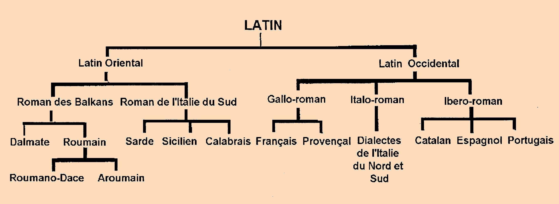 Romance Languages The romance languages.