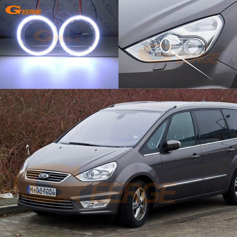 Cheap Car Light Assembly Buy Directly From China Suppliers For Ford Galaxy 2006 2014 Excellent Angel Eyes Ultra Bright Illuminat Car Car Lights Led Angel Eyes
