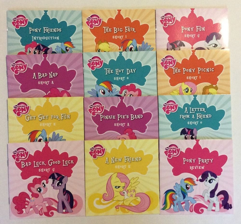 My Little Pony Early Reader Box Set