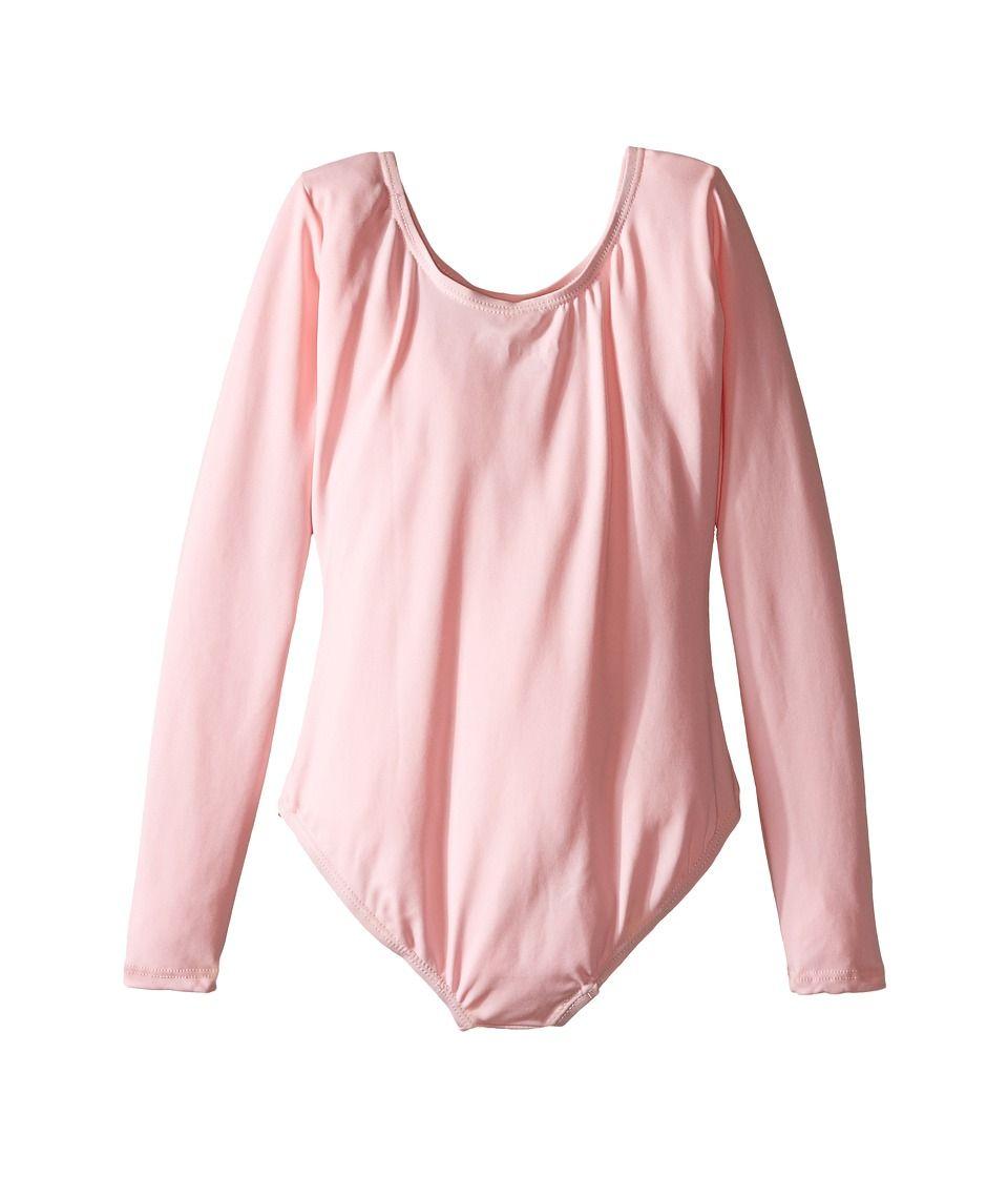 4cb85698d Capezio Kids Team Basic Long Sleeve Leotard (Toddler Little Kids Big ...