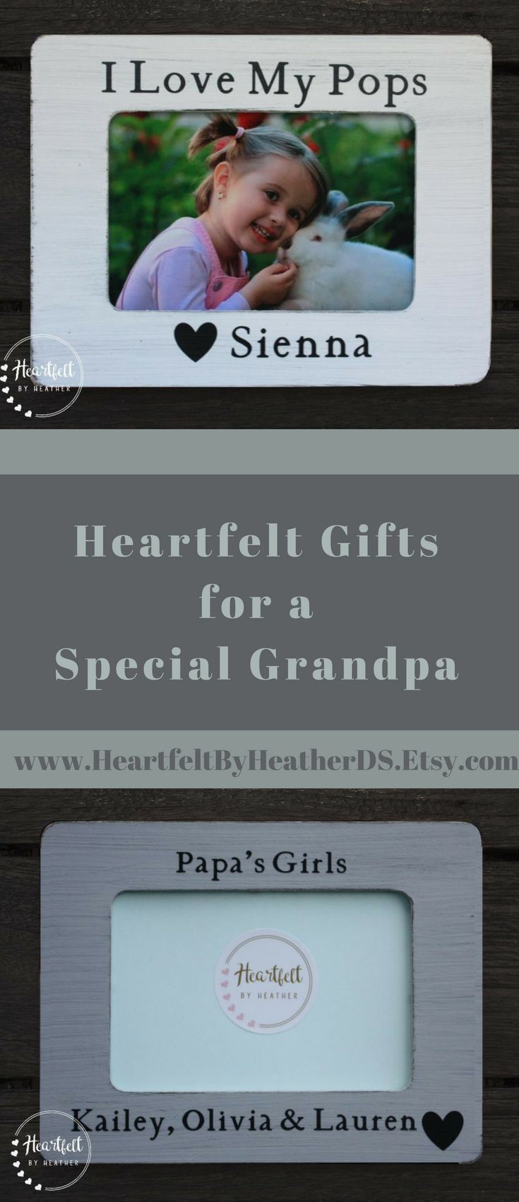 Personalized I Love My Pops Picture Frame 4x6 - Grandpa Gift from ...